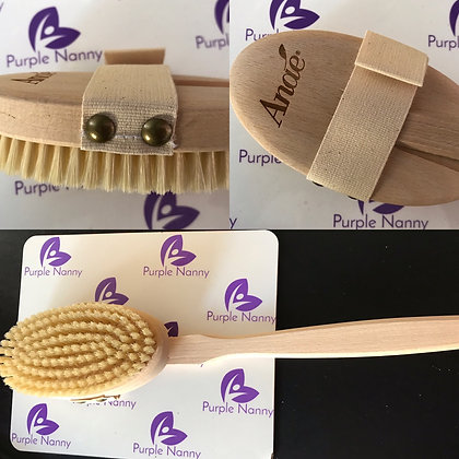 Back wash brush