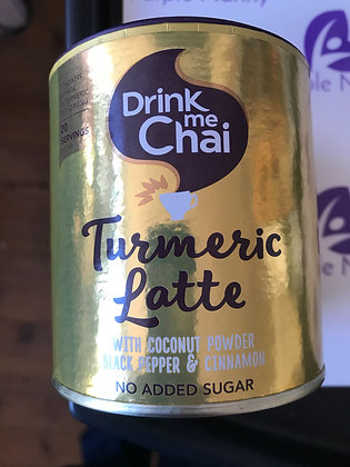 Drink Me Chai turmeric latte