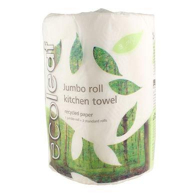 Ecoleaf giant paper kitchen towel roll