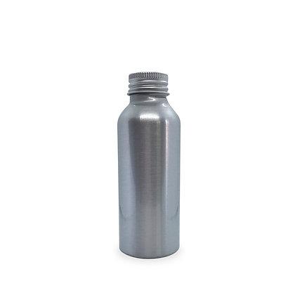 100ml empty aluminium bottle