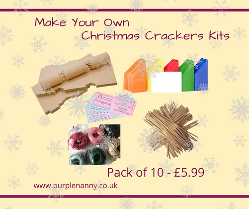 Make Your Own Christmas Crackers Kits