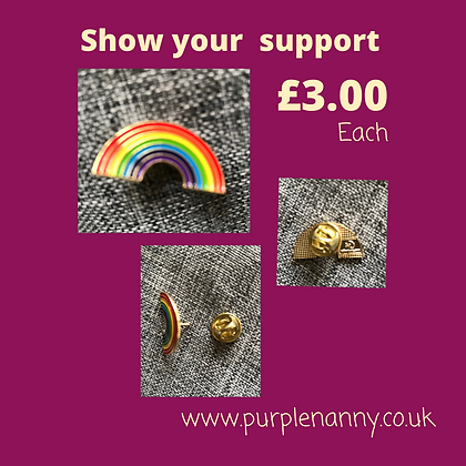 Show Your Support NHS pin - charity