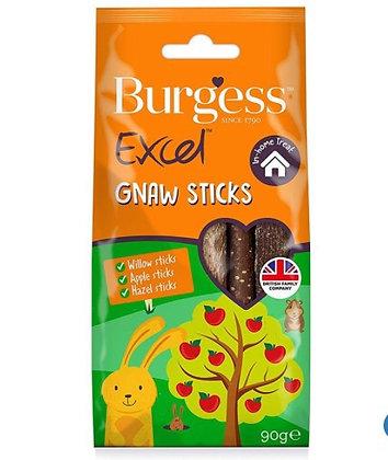 Wood gnaw sticks