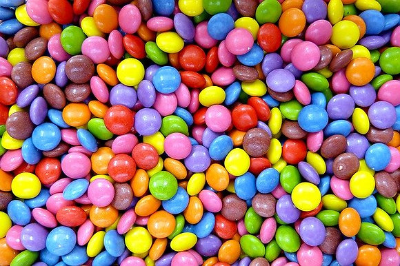 Vegan Candy Covered Chocolate