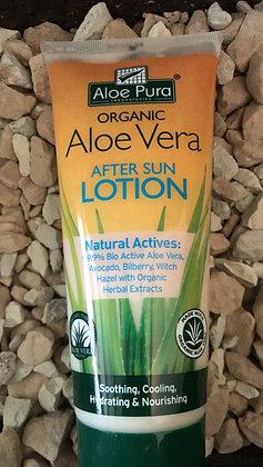 Aloe Vera after sun care