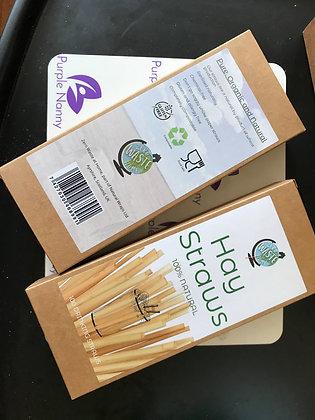 Plastic Free Hay Straws
