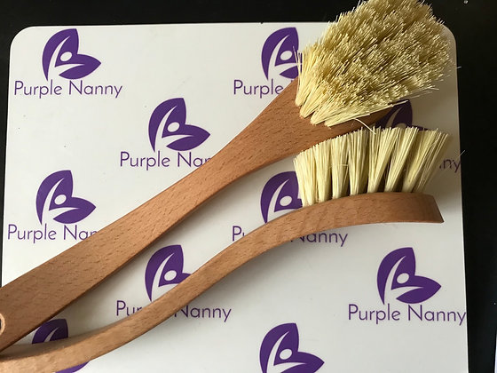 Eco washing dish brush with plant based bristles