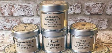 Rhubarb Candle Company Soy Candles