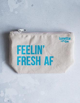 Lunette Cotton Pouch - Feeling Fresh AF