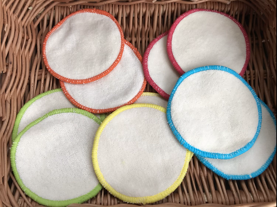 Reusable face Pads - 10 pack
