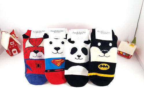 Socks Club - Panda ankle socks