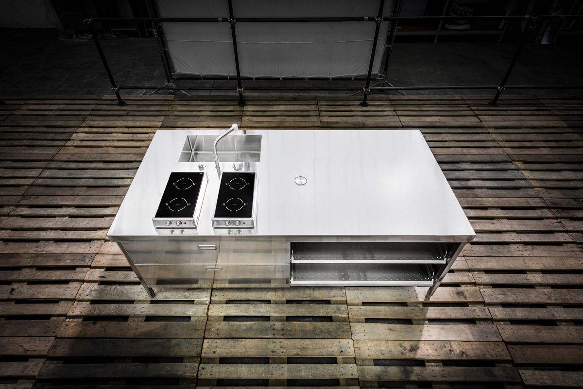 Alpes Inox - Kitchen Modules