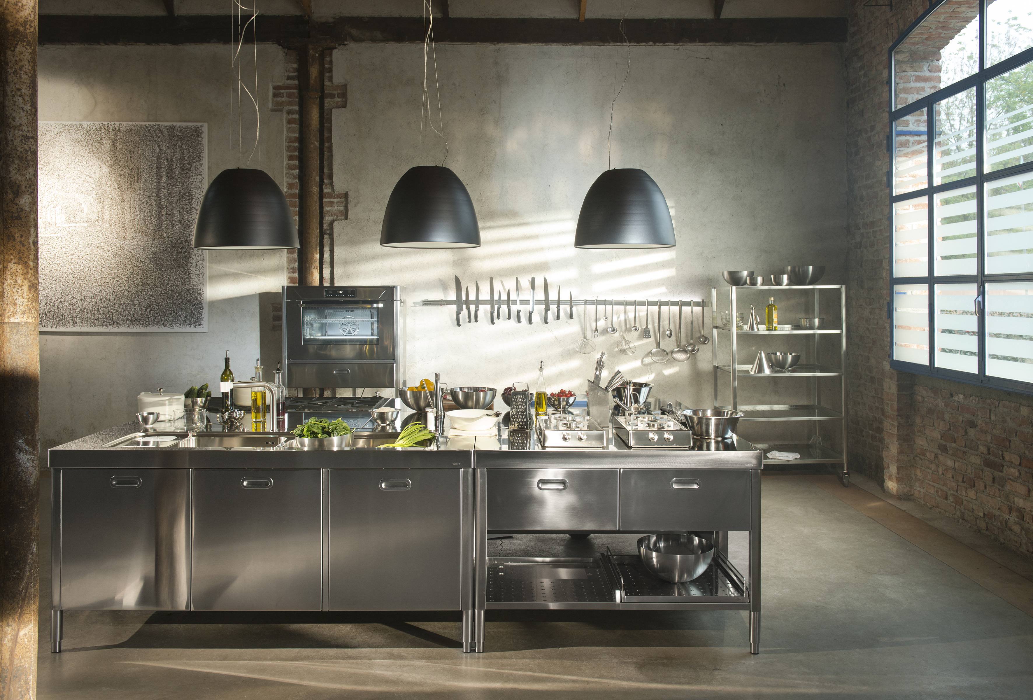 Alpes Inox Loftkitchen