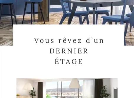 Encore qq disponibilités en dernier étage #appartementbayonne