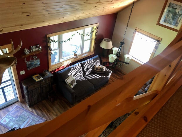 Groom's Cabin - Loft View