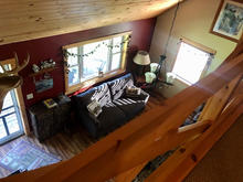 Groom's Cabin - Loft View