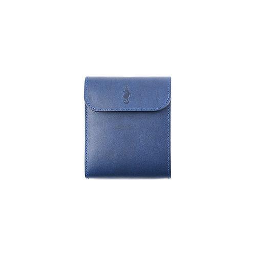 二つ折り財布 / 藍染Indigo