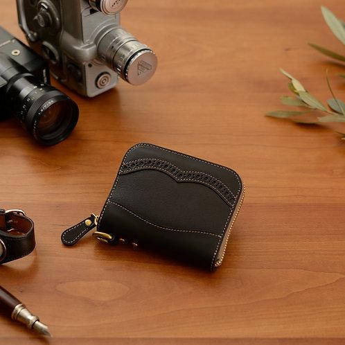 ラウンドファスナー財布S / メダリオンClassic Black