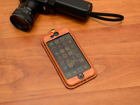 iP078 iPhone leather jacket for iPhone7/8
