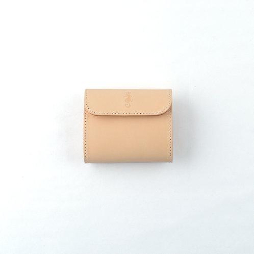 三つ折り財布 / Natural