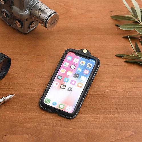 iPhoneX,XS用革ケース / Classic Black