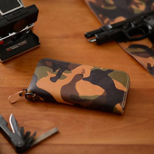 ラウンドファスナー財布L / Armate
