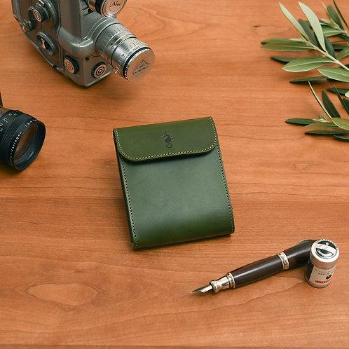 二つ折り財布 / Classic Green