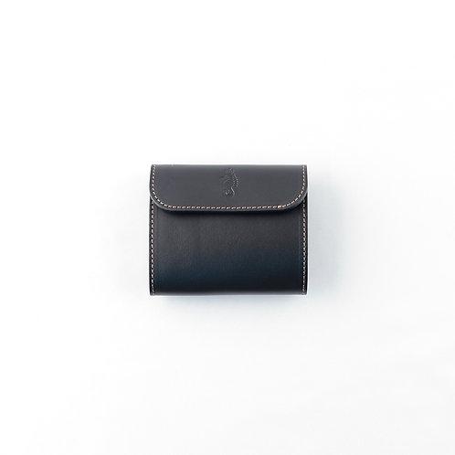 三つ折り財布 / Classic Black