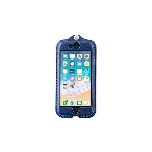 iPhone7,8,SE(2020)用革ケース / 藍染Indigo