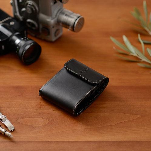 二つ折り財布 / Classic Black