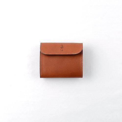 三つ折り財布 / Classic Brown