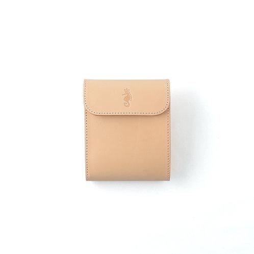 二つ折り財布 / Natural