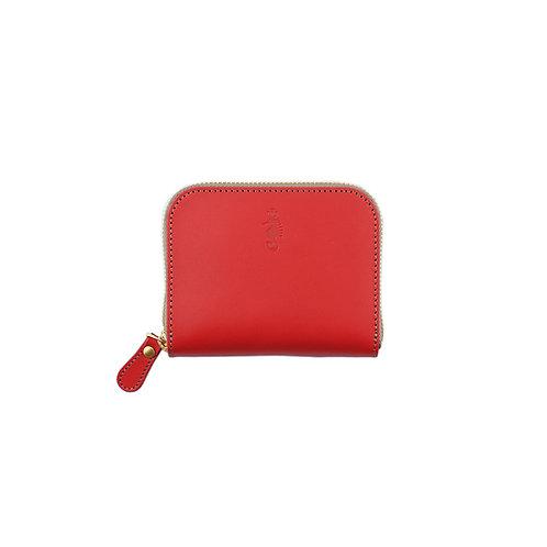 ラウンドファスナー財布S / Classic Red