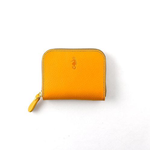 ラウンドファスナー財布S / Ruga Yellow