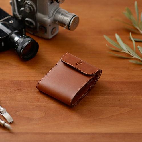 二つ折り財布 / Classic Brown