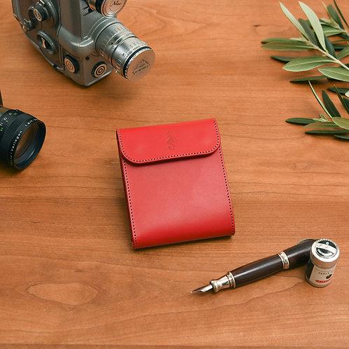 二つ折り財布 / Classic Red