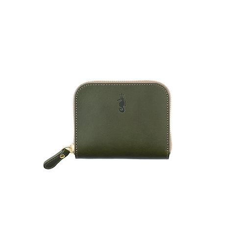 ラウンドファスナー財布S / Classic Green