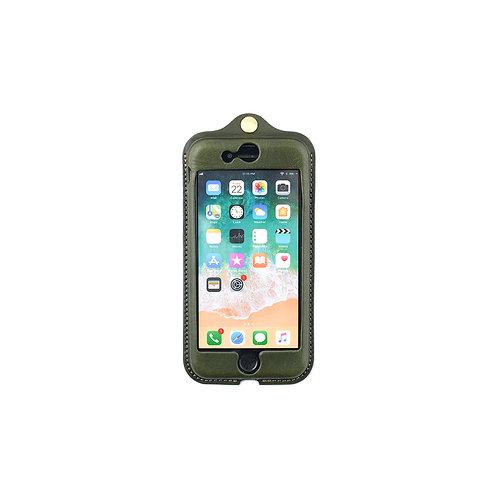 iPhone7,8,SE(2020)用革ケース / Classic Green