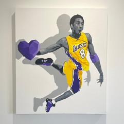 """""""The boy with the heart"""" 70x50cm - acrylic on canvas"""