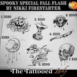 Spooky Special Fall Flash 2019