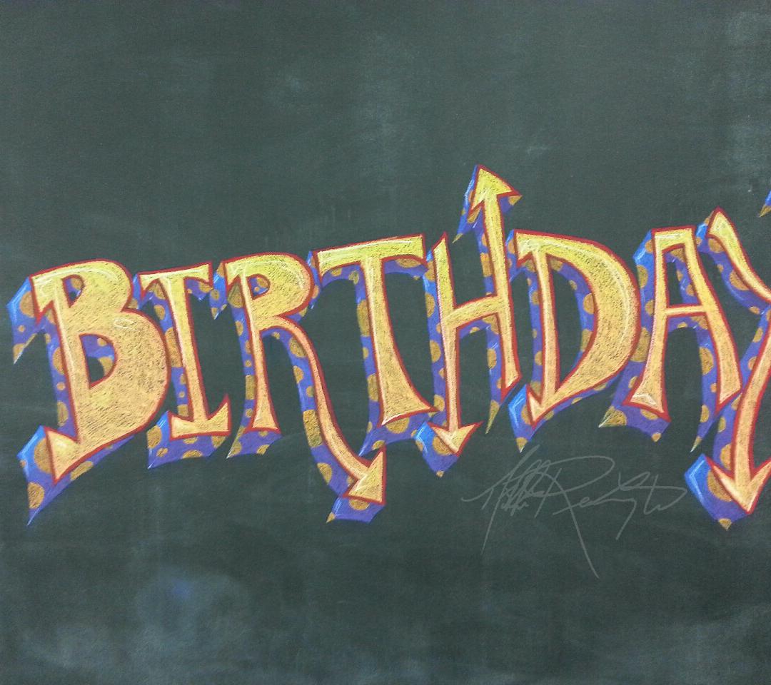 Birthday Detail