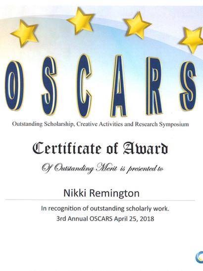 OSCARS Outstanding Merit
