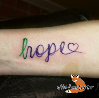 Hope with a Ribbon