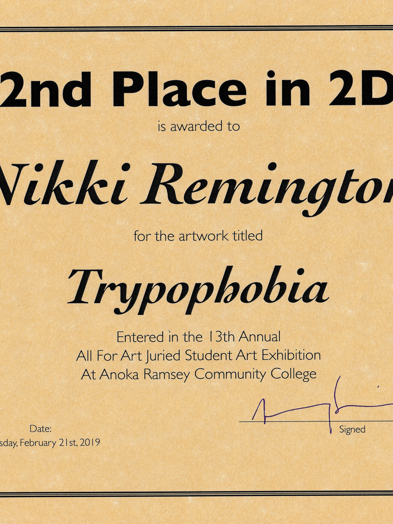 2nd Place in 2D