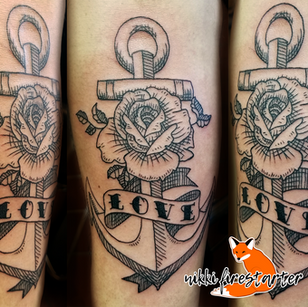 Anchor with Rose