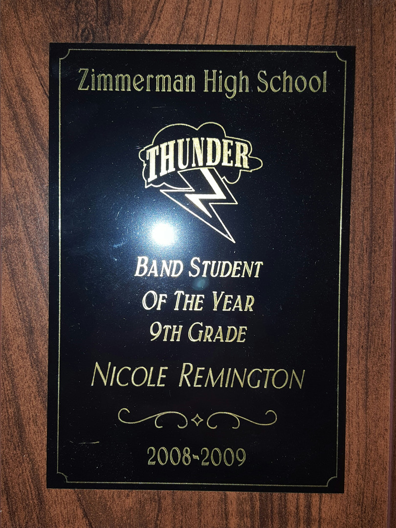 Band Student of the Year