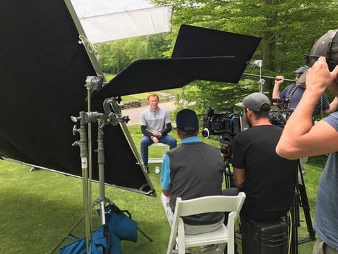 Golfer Reed Howard, son of Filmmaker Ron Howard, discusses learning Moe Norman's swing