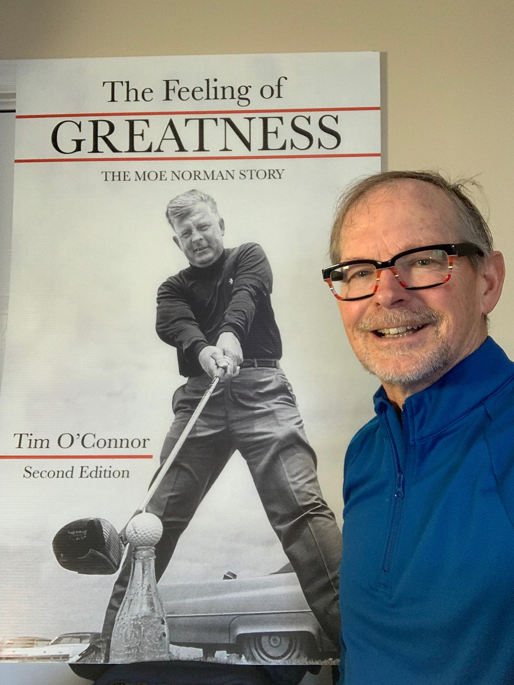 Tim O'Connor has written a biography of Moe Norman