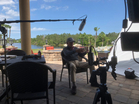 Golf Instructor Craig Shankland interview at LPGA International in Daytona Beach, FL