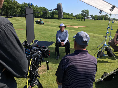Golf Instructor and friend of Moe, Jim 'Doc' Suttie, interview